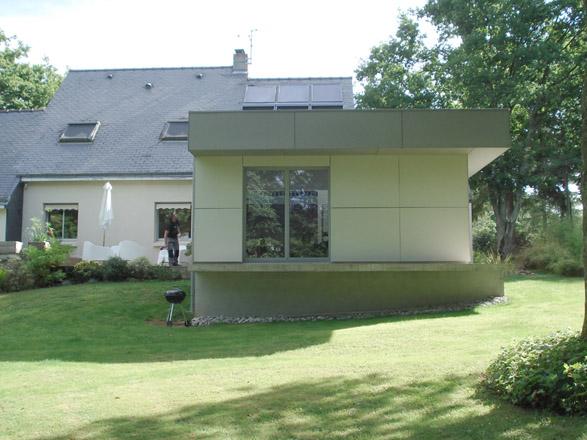 extension d 39 une maison individuelle la chapelle sur erdre. Black Bedroom Furniture Sets. Home Design Ideas